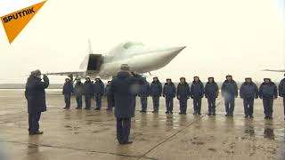 بازگشت بمب افکن های توپولف-22 ام 3 روسیه از سوریه