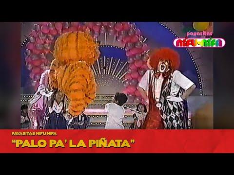 Payasitas Nifu Nifa Palo pa la Piñata Súper Sábado Sensacional