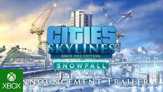 Cities: Skylines - Snowfall XBOX Announcement Trailer