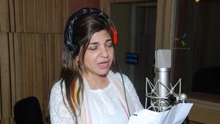 'Kash Tum Hote' Movie Song Recording By Alka Yagnik !