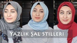 Yazlık Şal Bağlama Modelleri | Şal Seçimi | Hijab Tutorials