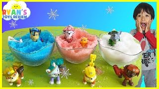 Instant Snow Paw Patrol Surprise Toys for Kids Ryan ToysReview