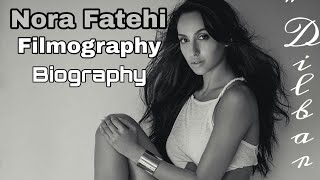 """Nora Fatehi Filmography 