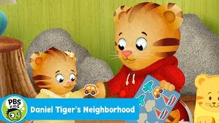 DANIEL TIGER'S NEIGHBORHOOD | Oh No! Margaret Wants My Stickers | PBS KIDS