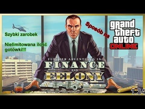 watch GTA V | Jak szybko zarobić pieniądze w GTA V? | 1.34 | Grand Theft Auto V Online #1