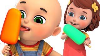 Toy Trucks Videos for kids - Ice Cream Truck assembly videos for kids - Surprise Egg toys jugnu kids