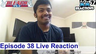 Ichigo vs Kenpachi!! - Bleach Anime Episode 38 Live Reaction