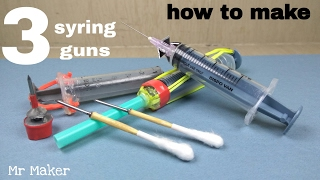 3 CRAZY medical syringe GUNS - [ Be Carefull ]