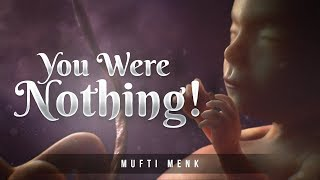 You Were Nothing! - Amazing Mufti Menk Recitation from Surah Al Insan