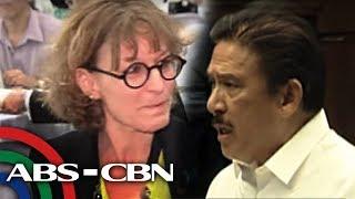 Bandila: Sotto, binanatan ang mga U.N. experts ukol sa karapatang pantao