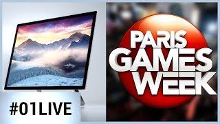 01LIVE HEBDO #117 : Paris Games Week, Microsoft Studio, et Shadow