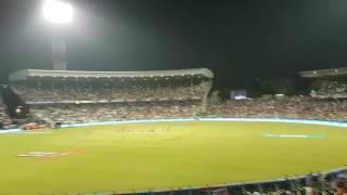 Eden garden Kolkata yesterday match KKR vs SRG winning celebration II kolkata win II