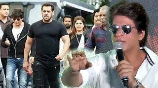 Shahrukh khan REACTION On Salman Khan For Cameo In Dwarf Special Song