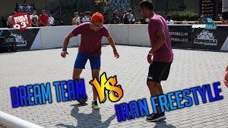 WS3s QPEN SUPERBALL | DREAM TEAM VS IRAN FREESTYLE