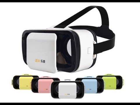 The VR Shop - Unboxing & Hands on Review - Leji VR Mini
