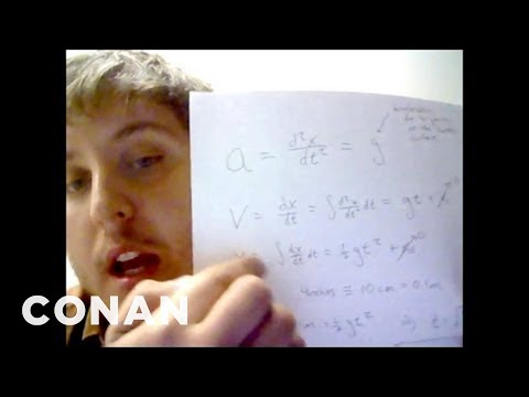 Fan Correction You re Breaking The Laws of Physics CONAN on TBS