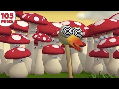 Best of Gazoon S2 Ep 26 The Hallucinating Ostrich Funny Animal Cartoons HooplaKidz TV