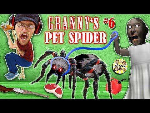 GRANNY s PET SPIDER SECRET ROOMS w Annoying Baldi s Basics FGTEEV Gameplay