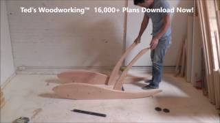 DIY Lounge Chair - Get 16,000 Woodworking Plans