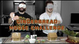 GINGERBREAD HOUSE CHALLENGE | BOYFRIEND vs. BOYFRIEND | Justin and Nick