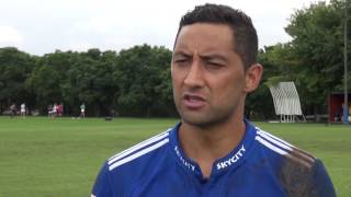 Benji Marshall talks about making his first start for the Blues
