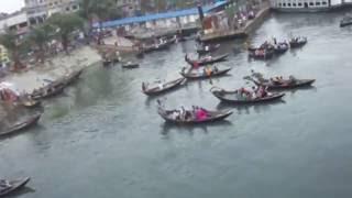 M. V. Bangali start from dhaka towards Barisal.