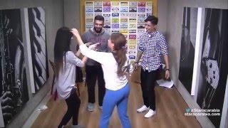 حفلة راقصة للطلاب على الاغاني الجزائرية والامازيغية في الاسبوع الاخير من ستار اكاديمي 11