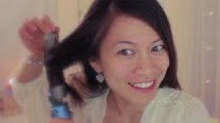 ASMR Hair Roleplay // Brushing // Oils // Hot Tools