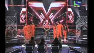X Factor India - Amit Jhadav's energetic performance on Aahun Aahun - X Factor India - Episode 12 - 24 June 2011