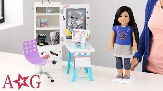 Z's Desk!   Z Yang   American Girl