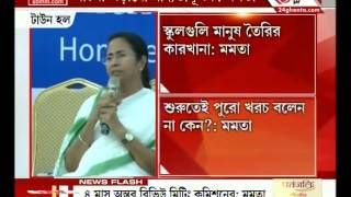 Mamata Banerjee Holds Meeting With Private Educational Authorities Over Fee Structure (part-2)