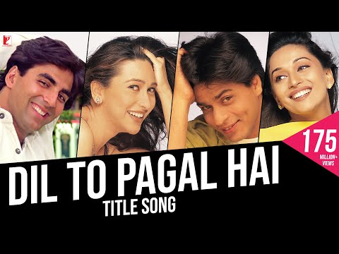 Xxx Mp4 Dil To Pagal Hai Full Title Song Shah Rukh Khan Madhuri Karisma Akshay Lata Udit 3gp Sex