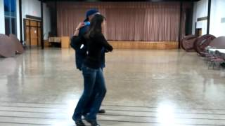 JT, and Kay Kay Chicago Steppin lesson  After Class