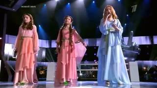 Aleluia (Hallelujah) em três idiomas Russo-Inglês-Árabe