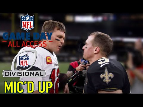 NFL Divisional Round Mic d Up They will put a Jordan face on you Game Day All Access 2020