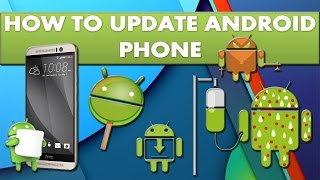 How to update your android device OS version?