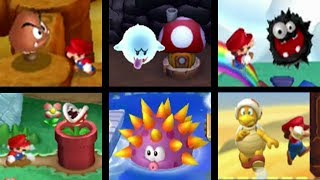 New Super Mario Bros. Series - All Enemy Courses (2009-2012)