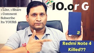 Tenor 10.or G Unboxing | Finally Someone Killed Redmi Note 4 | 1 Like Surprise