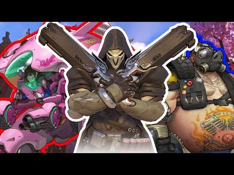 Overwatch | First time playing on my channel!