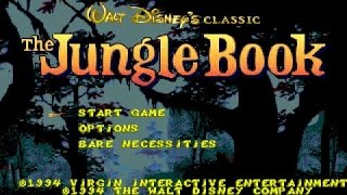 Disney's the Jungle Book gameplay (PC Game, 1994)