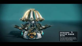 Warframe - New Ayatan Sculpture From Sortie *0* Awesome Looking!!!!