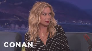 Christina Applegate Loves Eavesdropping On Her 6-Year-Old Daughter  - CONAN on TBS