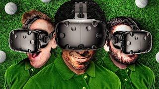 I SUCK AT VR GOLF! - CLOUDLANDS VR MINIGOLF (HTC VIVE)