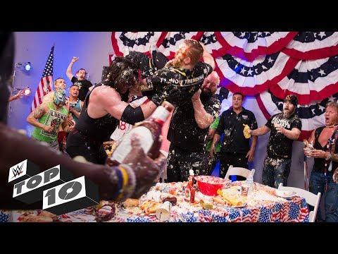 Xxx Mp4 Craziest Food Fights WWE Top 10 June 2 2018 3gp Sex