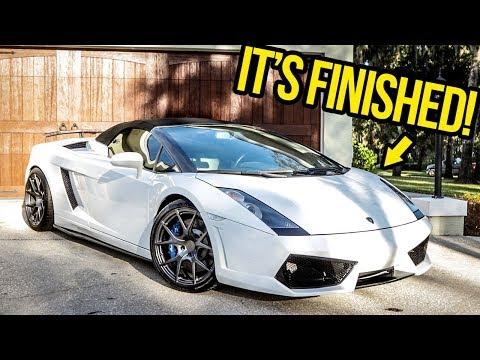 My Cheap Lamborghini Is FINISHED