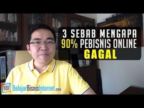 3 Sebab Mengapa 90% Pebisnis Online Gagal