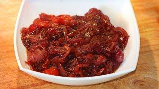 Cola Red Onions - BBQ Side Dish & Garnish /coca-cola/sauce/barbecue