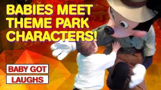 Toddlers and Kids Meet Their Favorite Theme Park Characters #IRL