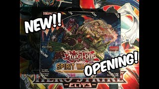 YuGiOh Spirit Warriors Booster Box Opening! NEW Six Samurais!