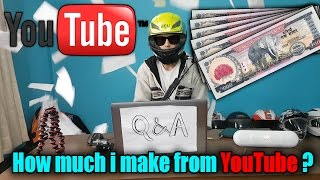 How much money do i make from Youtube ? | Q and A | Nepal